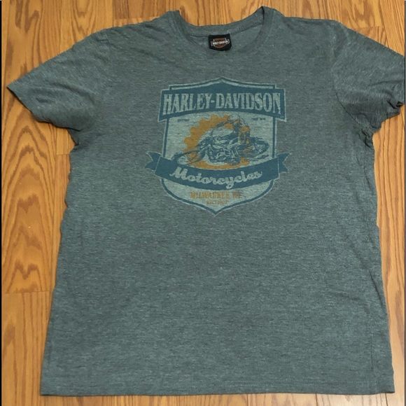 Harley-Davidson Other - Harley-Davidson Grey XL Myrtle Beach T-Shirt